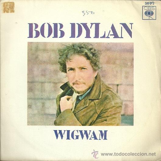 BOB DYLAN SINGLE SELLO CBS AÑO 1970 EDITADO EN ESPAÑA (Música - Discos - Singles Vinilo - Pop - Rock - Extranjero de los 70)