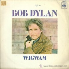 Discos de vinilo: BOB DYLAN SINGLE SELLO CBS AÑO 1970 EDITADO EN ESPAÑA . Lote 50757444