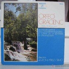 Discos de vinilo: SINGLE DE ORFEÓ GRACIENC: LA SANTA ESPINA - AÑO 1975. Lote 50766291