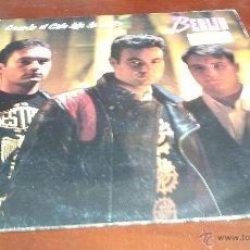 Discos de vinilo: BERLIN - CUANDO EL CIELO DEJE DE EXISTIR - MAXI SINGLE 12 - 1993.. Lote 50767574