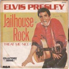 Discos de vinilo: ELVIS PRESLEY,JAILHOUSE ROCK EDICION FRANCESA. Lote 50769611