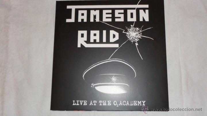 JAMESON RAID - LIVE AT THE O2 ACADEMY 2XLP GATEFOLD HIGH ROLLER RECORDS - HRR 180 GERMANY 2011 (Música - Discos - LP Vinilo - Heavy - Metal)
