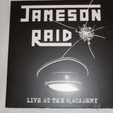 Discos de vinilo: JAMESON RAID - LIVE AT THE O2 ACADEMY 2XLP GATEFOLD HIGH ROLLER RECORDS - HRR 180 GERMANY 2011. Lote 50770319