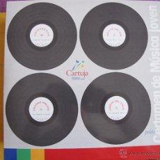 Discos de vinilo: MAXI-RHINOCEROS, RELICARIOS, CRIANDO MALVAS, CAIDOS DEL CIELO - PRIMER CERTAMEN DE MUSICA JOVEN. Lote 146437713