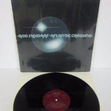 Discos de vinilo: ROD STEWART - ATLANTIC CROSSING - LP - AMIGA 1980 GERMANY 855676 SUPER RARE . Lote 50777179