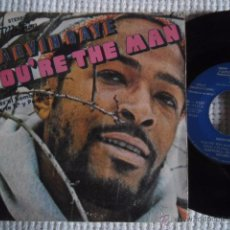 Discos de vinilo: MARVIN GAYE - '' YOU'RE THE MAN '' SINGLE 7'' SPAIN PROMO. Lote 50779796