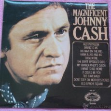 Discos de vinilo: JOHNNY CASH,THE MAGNIFICENT EDICION INGLESA. Lote 50784107