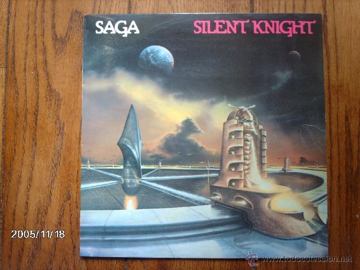 SAGA - SILENT KNIGHT (Música - Discos - LP Vinilo - Heavy - Metal)