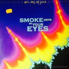 Discos de vinilo: PRINCESS OF JAVA - SMOKE GETS IN YOUR EYES . MAXI SINGLE . 1994 GERMANY. Lote 50787889