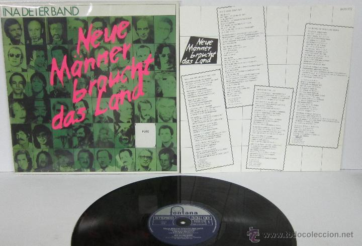 Ina Deter Band Neue Manner Braucht Das Land Comprar Discos Lp