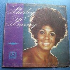 Discos de vinilo: SHIRLEY BASSEY SHIRLEY BASSEY L LP MADE IN AUSTRALIA GATEFOLD PEPETO. Lote 50791908