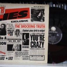 Discos de vinilo: GUNS N´ROSES, G N´ LIES, GEFFEN RECORDS, 1988,1ª EDICCION ORIGINAL MADE IN GERMANY, LP. Lote 50792511
