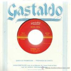 Discos de vinilo: MIGUEL RIERA SG GASTALDO 1989 ROSANA (POR LAS 2 CARAS) . Lote 50793173