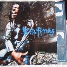 Discos de vinilo: BUSTA RHYMES - '' WHEN DISASTER STRIKES '' 2 LP + INNER ORIGINAL USA 1997 NEAR MINT. Lote 50793615