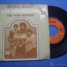 Discos de vinilo: THE TREMELOES HELULE HELULE SINGLE FRANCIA PDELUXE. Lote 50795227