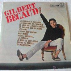 Discos de vinilo: LP DE GILBERT BECAUD, CFELP 1336, EDICIÓN FRANCESA DE LA VOZ DE SU AMO (LA VOIX DE SON MAITRE). Lote 50795420