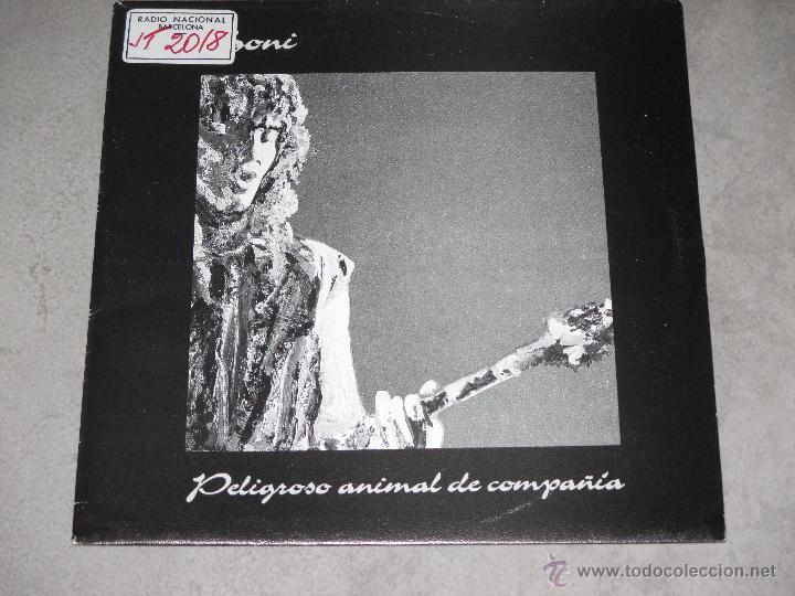 BONI - PELIGROSO ANIMAL DE COMPAÑIA - PROMO - MERCURY MADE IN SPAIN - 1992 - IB - (Música - Discos - Singles Vinilo - Grupos Españoles de los 90 a la actualidad)