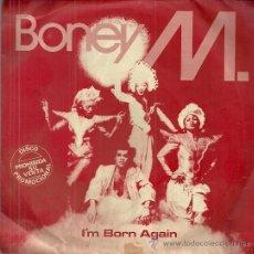 Discos de vinilo: BONEY M. SINGLE SELLO ARIOLA AÑO 1980 EDITADO EN ESPAÑA PROMOCIONAL, PROMOCIONAL, ETIQUETA BLANCA. Lote 50797076
