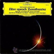 Discos de vinilo: RICHARD STRAUSS - ALSO SPRACH ZARATHUSTRA. Lote 50800433