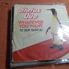 Discos de vinilo: STATUS QUO. Lote 50802453
