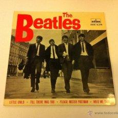 Discos de vinilo: THE BEATLES.LITTLE CHILD.EP.ESPAÑA 1964.ODEON.LABEL AZUL OSCURO.. Lote 50807981