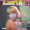 Discos de vinilo: LP - MANUEL GAS - EL SONIDO DE MANUEL GAS (SPAIN, DISCOS FONTANA 1970). Lote 50808819