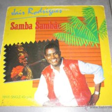 Discos de vinilo: JAIR RODRIGUES - SAMBA SAMBAO - MAXI -ARIOLA - MADE IN SPAIN -PROMO - 1984 - IB -. Lote 50809005
