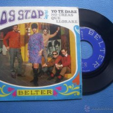 Discos de vinilo: LOS STOP YO TE DARE SINGLE SPAIN 1968 PDELUXE. Lote 65897173