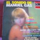 Discos de vinilo: LP - MANUEL GAS - EL SONIDO DE MANUEL GAS (SPAIN, DISCOS FONTANA 1970). Lote 50809238