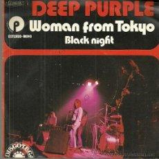 Discos de vinilo: DEEP PURPLE SINGLE SELLO EMI AÑO 1973 EDITADO EN ESPAÑA . Lote 50810860