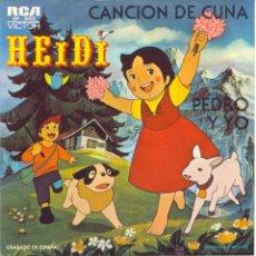 Discos de vinilo: HEIDI. Lote 77113967