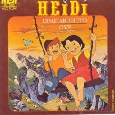 Discos de vinilo: HEIDI. Lote 50811409