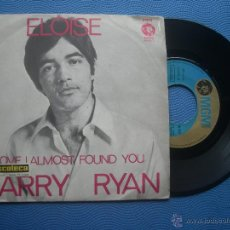 Discos de vinilo: BARRY RYAN ELOISE SINGLE SPAIN 1968 PDELUXE. Lote 50812864