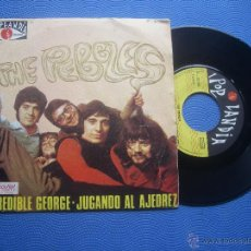 Discos de vinilo: THE PEBBLES INCREDIBLE GEORGE SINGLE SPAIN 1969 PDELUXE. Lote 50813124