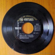 Discos de vinilo: VENTURES, THE - WAR OF SATELLITES +3 (LIBERTY 1964) SINGLE EP PROMOCION ESPAÑA EXPLORATION IN TERROR. Lote 50815434