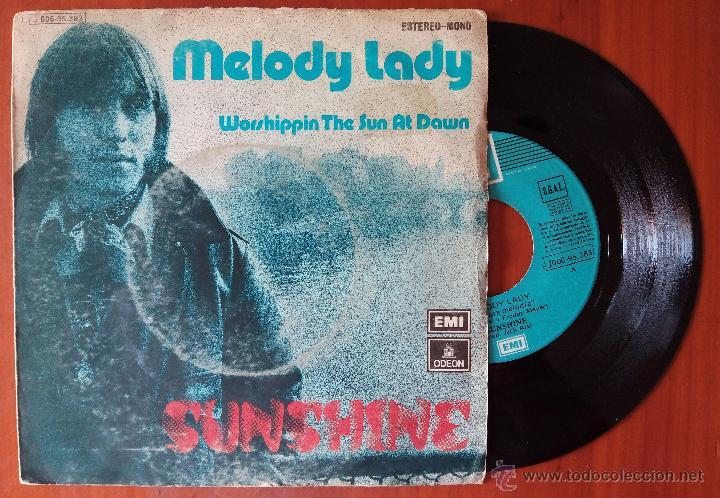 SUNSHINE, MELODY (EMI 1974) SINGLE ESPAÑA (Música - Discos - Singles Vinilo - Pop - Rock - Extranjero de los 70)