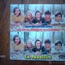 Discos de vinilo: LA PANDILLA - CHIRIPITIFLAUTICO + EL ARCO DE DON MANDOLIO. Lote 50818331