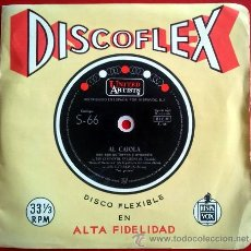 Discos de vinilo: DISCOFLEX AL CAIOLA CON SUS GUITARRAS Y ORQUESTA . LOS CAÑONES DE NAVARONE / DOS GUITARRAS. Lote 50818734