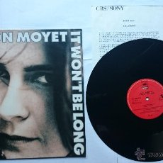 Discos de vinilo: ALISON MOYET (YAZOO) - IT WON'T BE LONG / MY RIGHT A.R.M. / TAKE OF ME (MAXI PROMO 1991). Lote 50824644