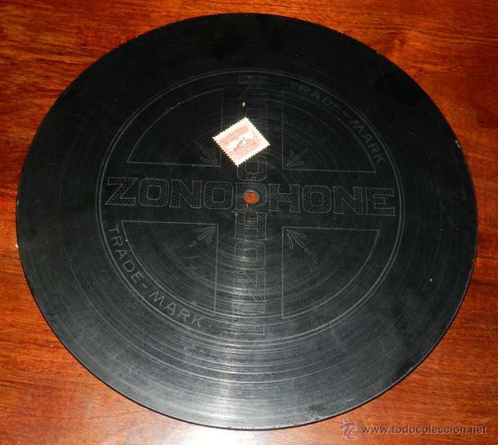 Discos de vinilo: DISCO PIZARRA ZONOPHONE, JUANITO PARDO, JOTAS, ZARAGOZANAS PURAS Y RABALERA Nº X-52195, BUEN ESTADO - Foto 3 - 50826399