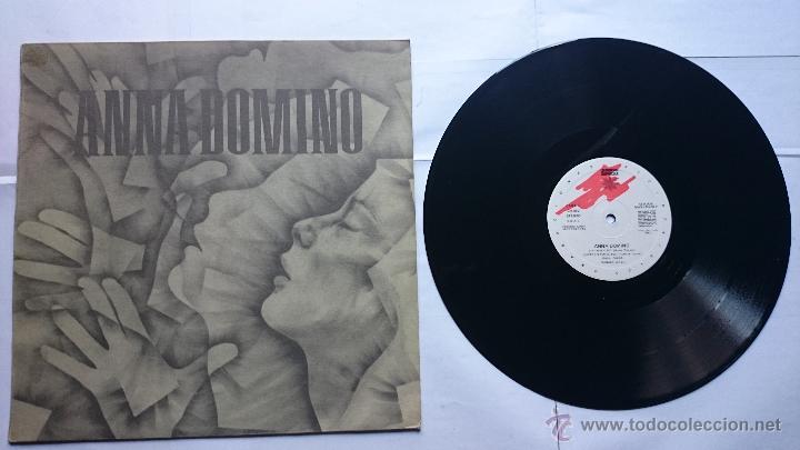 ANNA DOMINO - RYTHM / SIXTEEN TONS / HALF OF MYSELF / TARGET (MAXI 1985) (Música - Discos de Vinilo - Maxi Singles - Pop - Rock - New Wave Internacional de los 80)