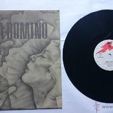 Discos de vinilo: ANNA DOMINO - RYTHM / SIXTEEN TONS / HALF OF MYSELF / TARGET (MAXI 1985). Lote 50831569