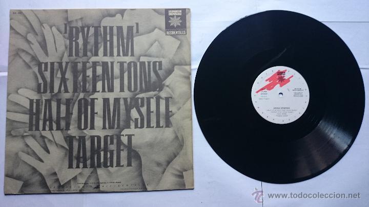 Discos de vinilo: ANNA DOMINO - RYTHM / SIXTEEN TONS / HALF OF MYSELF / TARGET (MAXI 1985) - Foto 2 - 50831569