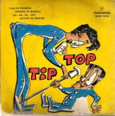 Discos de vinilo: EP TIP Y TOP : CAJA DE RECLUTAS . Lote 50843324