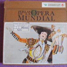Discos de vinilo: LP - PERLAS DE LA OPERA MUNDIAL - VARIOS (CAJA CON 8 LP'S, SPAIN, RCA 1967). Lote 50850807