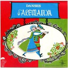 Discos de vinilo: DIE LUSTIGEN TANZER - DANSES D'ALEMANYA - EP SPAIN 1970 - ALS 4 VENTS 20.014-ET - FINA RIFÀ. Lote 50853864