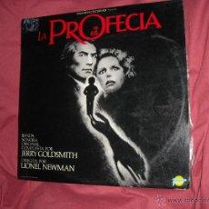 Discos de vinilo: LA PROFECIA THE OMEN MUSICA JERRY GOLDSMITH LP 1976 RCA EDICION ESPAÑOLA SPAIN REGALO SINGLE PROMO. Lote 50854438