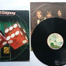 Discos de vinilo: BAD COMPANY - STRAIGHT SHOOTER (1ª EDICION 1975). Lote 50855103