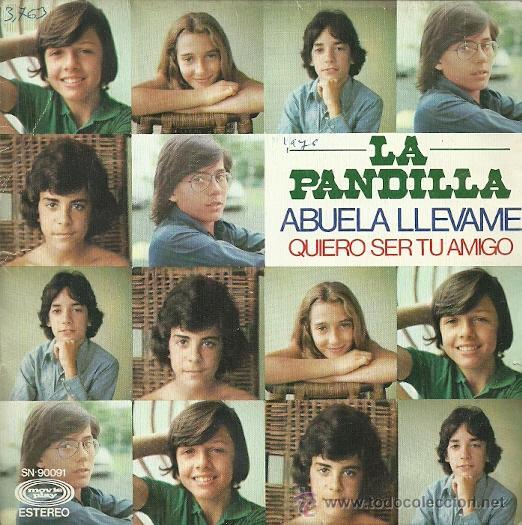 LA PANDILLA SINGLE SELLO MOVIEPLAY A ÑO 1976 EDITADO EN ESPAÑA (Música - Discos - Singles Vinilo - Música Infantil)
