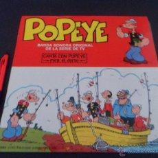 Discos de vinilo: POPEYE / BANDA SONORA ORIGINAL DE LA SERIE DE TV ~ 1980 ~ EN CASTELLANO -- ~. Lote 50861282